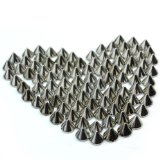 RHX Wholesales 100pc 10mm Gold Round Cone Spike Stud Rivet Spots Punk Bag Leathercraft DIY Accessories